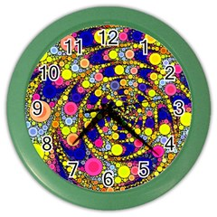 Wild Bubbles 1966 Wall Clock (Color)