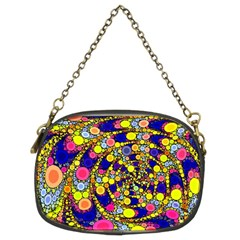 Wild Bubbles 1966 Chain Purse (two Sided)