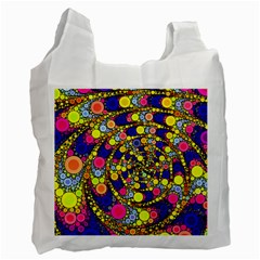Wild Bubbles 1966 White Reusable Bag (one Side)