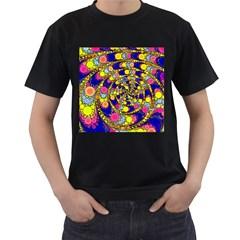 Wild Bubbles 1966 Men s T-shirt (Black)