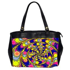 Wild Bubbles 1966 Oversize Office Handbag (two Sides)