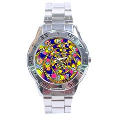 Wild Bubbles 1966 Stainless Steel Watch