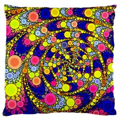 Wild Bubbles 1966 Large Cushion Case (two Sided)