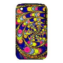 Wild Bubbles 1966 Apple iPhone 3G/3GS Hardshell Case (PC+Silicone)