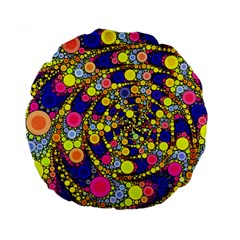 Wild Bubbles 1966 15  Premium Round Cushion