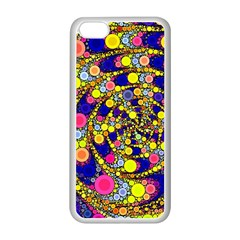 Wild Bubbles 1966 Apple iPhone 5C Seamless Case (White)