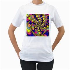 Wild Bubbles 1966 Women s T-Shirt (White)