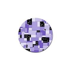 Purple Pain Modular Golf Ball Marker