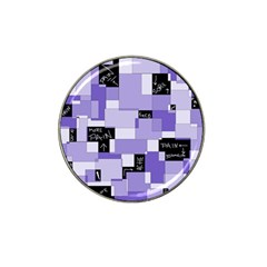 Purple Pain Modular Golf Ball Marker 4 Pack (for Hat Clip)