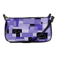 Purple Pain Modular Evening Bag