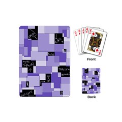 Purple Pain Modular Playing Cards (Mini)