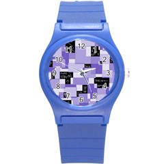 Purple Pain Modular Plastic Sport Watch (Small)