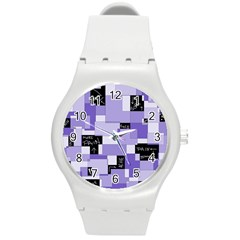 Purple Pain Modular Plastic Sport Watch (medium)