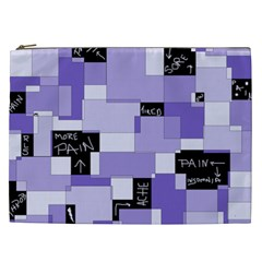 Purple Pain Modular Cosmetic Bag (XXL)