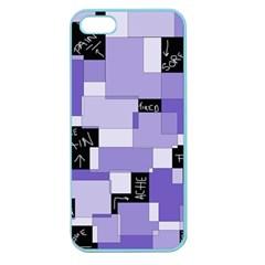 Purple Pain Modular Apple Seamless Iphone 5 Case (color)