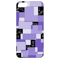 Purple Pain Modular Apple Iphone 5 Classic Hardshell Case
