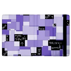 Purple Pain Modular Apple Ipad 3/4 Flip Case