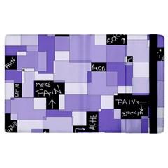 Purple Pain Modular Apple iPad 3/4 Flip Case