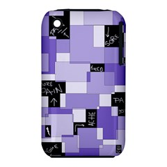 Purple Pain Modular Apple iPhone 3G/3GS Hardshell Case (PC+Silicone)