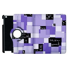 Purple Pain Modular Apple iPad 2 Flip 360 Case
