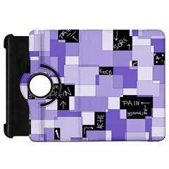 Purple Pain Modular Kindle Fire Hd 7  (1st Gen) Flip 360 Case