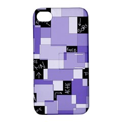 Purple Pain Modular Apple Iphone 4/4s Hardshell Case With Stand