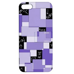 Purple Pain Modular Apple Iphone 5 Hardshell Case With Stand
