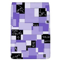 Purple Pain Modular Removable Flap Cover (Large)