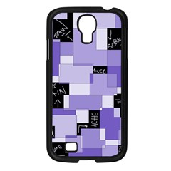 Purple Pain Modular Samsung Galaxy S4 I9500/ I9505 Case (Black)
