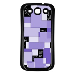 Purple Pain Modular Samsung Galaxy S3 Back Case (black)