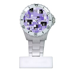 Purple Pain Modular Nurses Watch