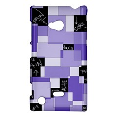 Purple Pain Modular Nokia Lumia 720 Hardshell Case