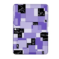 Purple Pain Modular Samsung Galaxy Tab 2 (10.1 ) P5100 Hardshell Case