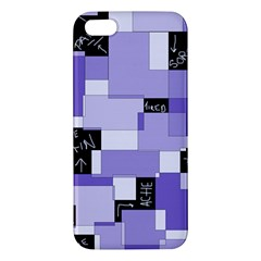 Purple Pain Modular iPhone 5S Premium Hardshell Case