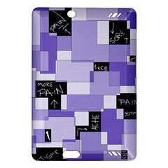 Purple Pain Modular Kindle Fire Hd 7  (2nd Gen) Hardshell Case