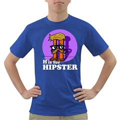 H is for Hipster Men s T-shirt (Colored)