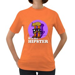 H Is For Hipster Women s T Shirt (colored)