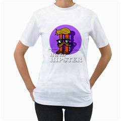 H is for Hipster Women s T-Shirt (White)