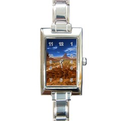 Monument Valley Rectangular Italian Charm Watch