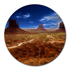 Monument Valley 8  Mouse Pad (Round)