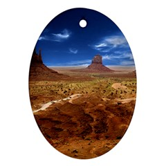 Monument Valley Oval Ornament