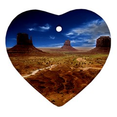 Monument Valley Heart Ornament