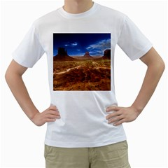 Monument Valley Men s T-Shirt (White)