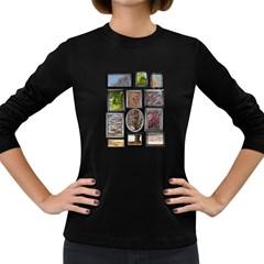 Family Tree Women s Long Sleeve T Shirt (dark Colored)