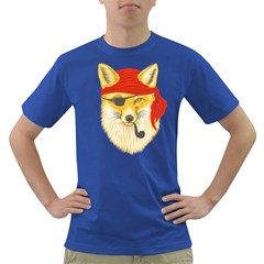 Foxy Pirate Men s T Shirt (colored)