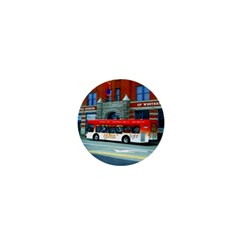 Double Decker Bus   Ave Hurley   1  Mini Button