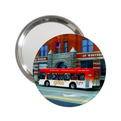Double Decker Bus   Ave Hurley   Handbag Mirror (2.25 )