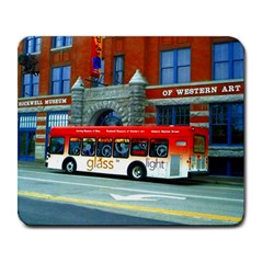 Double Decker Bus   Ave Hurley   Large Mouse Pad (rectangle)