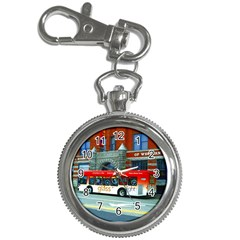 Double Decker Bus   Ave Hurley   Key Chain Watch