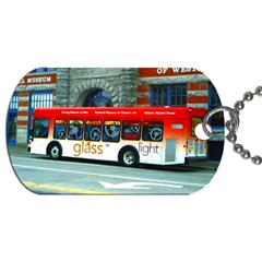 Double Decker Bus   Ave Hurley   Dog Tag (one Sided)